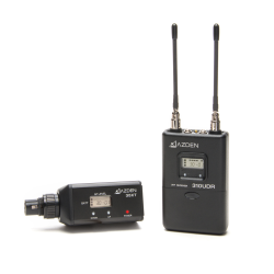 UHF On-Camera Plug-In System 566.125-589.875 MHz Tx-Rx Kit