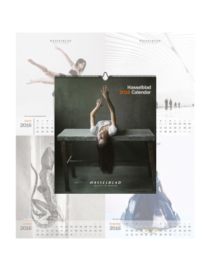 HASSELBLAD CALENDAR 2016 CLEARANCE PRICE