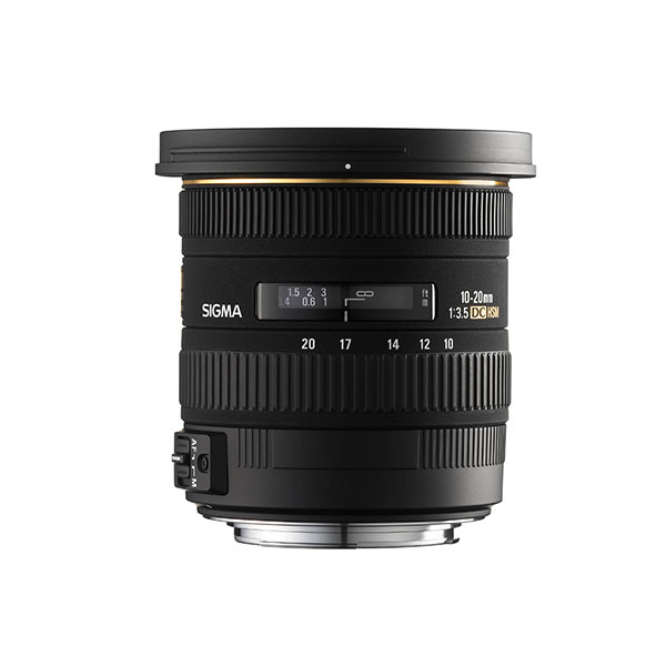 Sigma 10-20mm f/3.5 Ex DC HSM Lens for Sigma