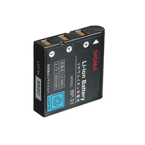 Sigma BP-31 Li-Ion Battery for DP Series