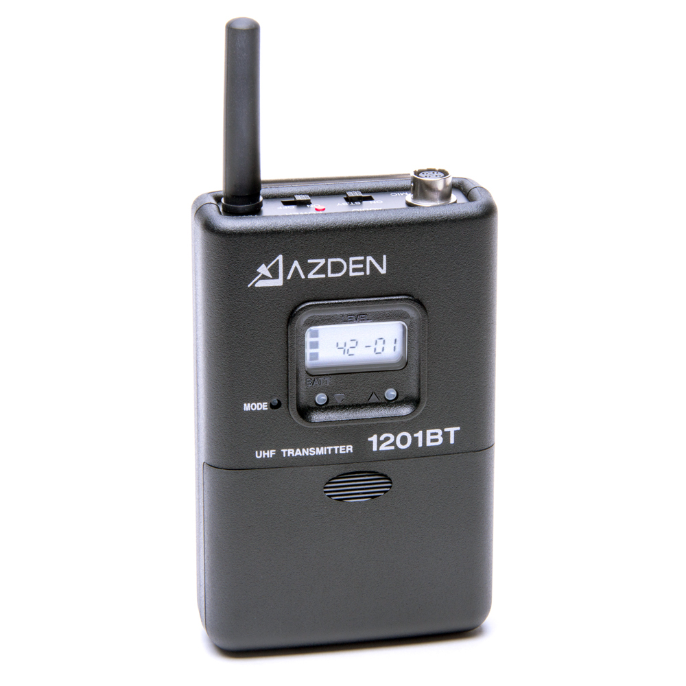 Azden 1201BT 1201 Series UHF Body-Pack Transmitter