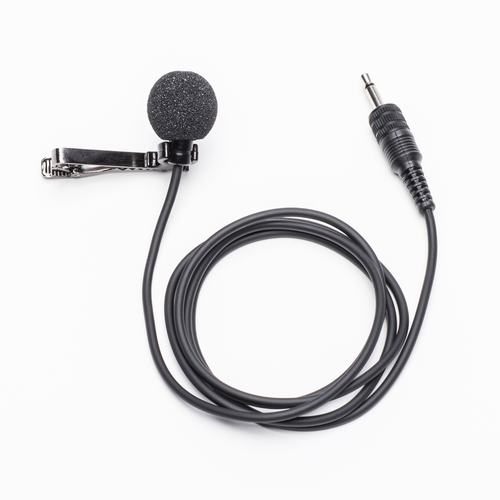 Azden EX-503L Omni-Directional Lapel Microphone 3.5mm for 10BT, 15BT, 30BT, 35BT and 32B