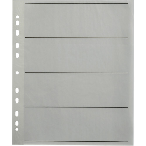 Paterson 25 x Spare Pages for 120/220 Negative Filing System