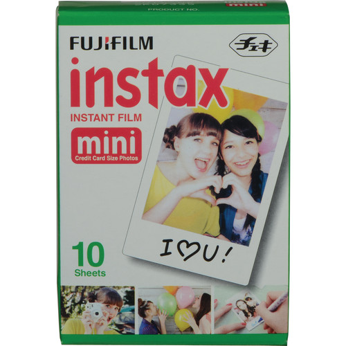 Fuji Instax Mini Film (1 Pack) 10 sheets