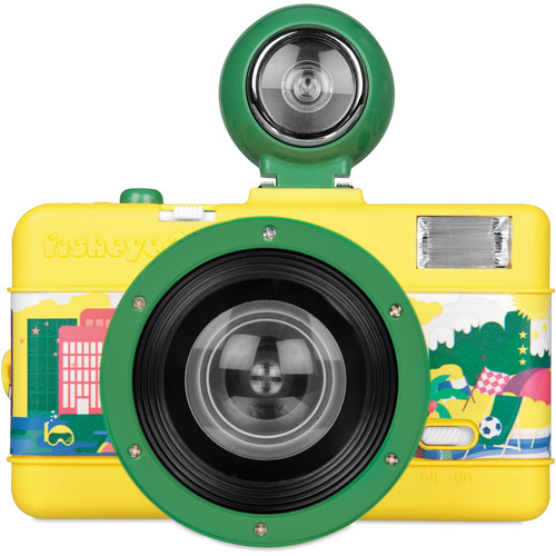 Lomography Fisheye No. 2 35mm Camera (Brazilian Summer) **