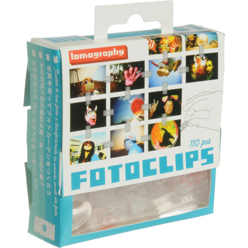 Lomography Fotoclips with Bag (110 Pieces)