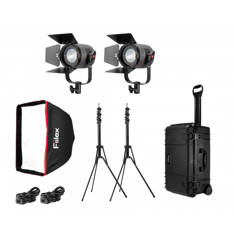Fiilex K201: 2 Light Pro Plus Kit