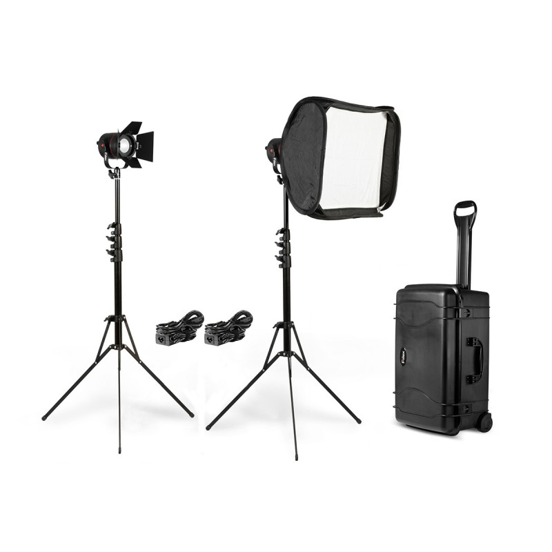 Fiilex K201: 2 Light Interview Kit