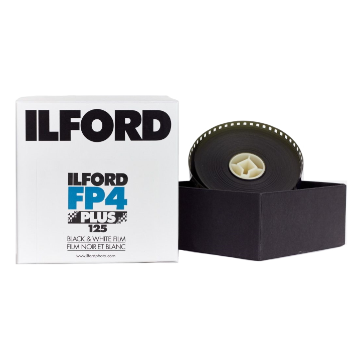 Ilford FP4 Plus ISO 125 35mm x 30.5m Black & White Film