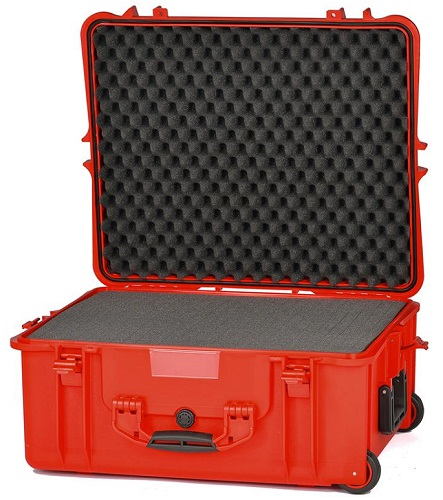 HPRC 2700W - Wheeled Hard Case with Foam (Red)