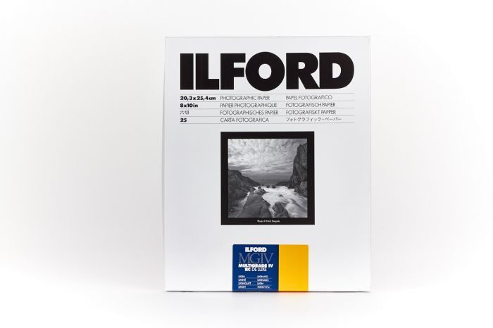 Ilford Multigrade IV RC Deluxe 25M Satin 20.3x25.4cm 100 Sheets MG4RC25M