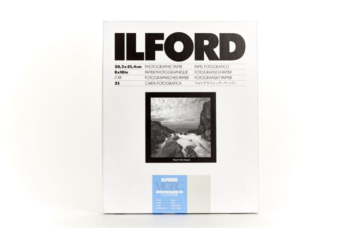 Ilford Multigrade RC Cooltone Pearl 8x10