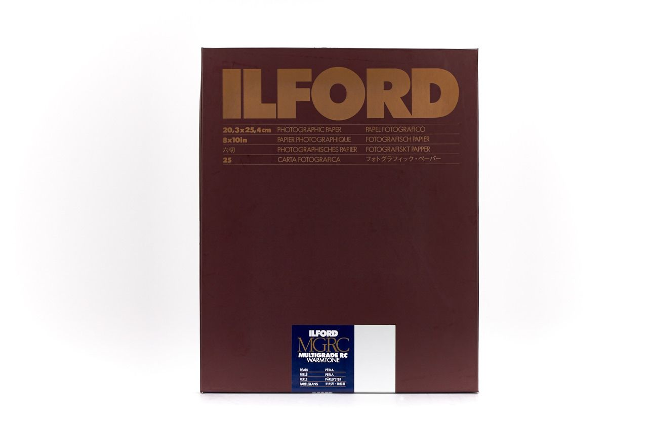 Ilford Multigrade RC Warmtone Pearl 8x10