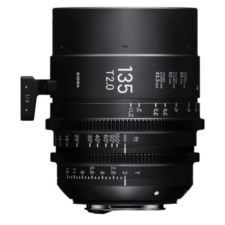 Sigma 135mm T2 Cine Lens for PL Mount