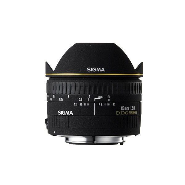 Sigma 15mm f/2.8 Ex DG Diagonal Fisheye Lens for Canon