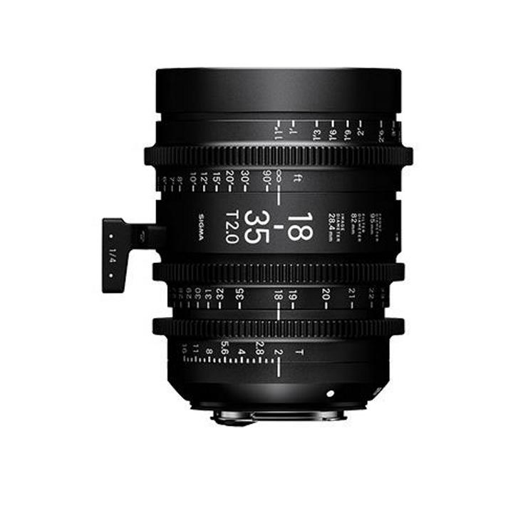 Sigma 18-35mm T2 Metric Cine Lens for Sony E-Mount