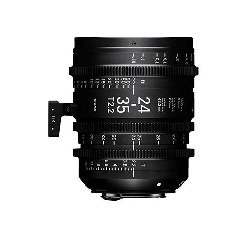 Sigma 24-35mm T2.2 Cine Lens for Sony E-Mount
