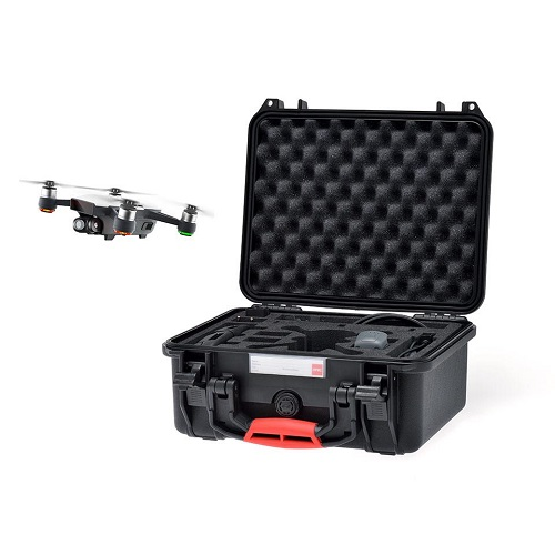 HPRC 2300 Hard Case for DJI SPARK Fly More Combo Black