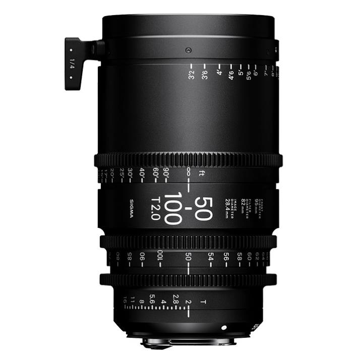 Sigma 50-100mm T2 Cine Lens for Canon EF Mount