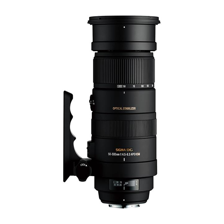 Sigma 50-500mm f/4.5-6.3 DG OS HSM Lens for Nikon **