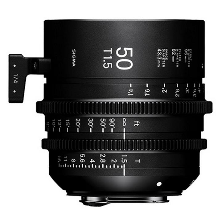 Sigma 50mm T1.5 Cine Lens for Sony E-Mount
