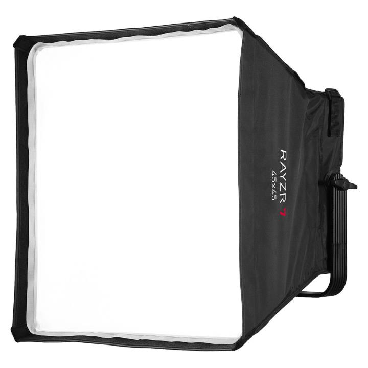 Rayzr 7 R7-45 Softbox 45x45 with Grid and Bracket Kit