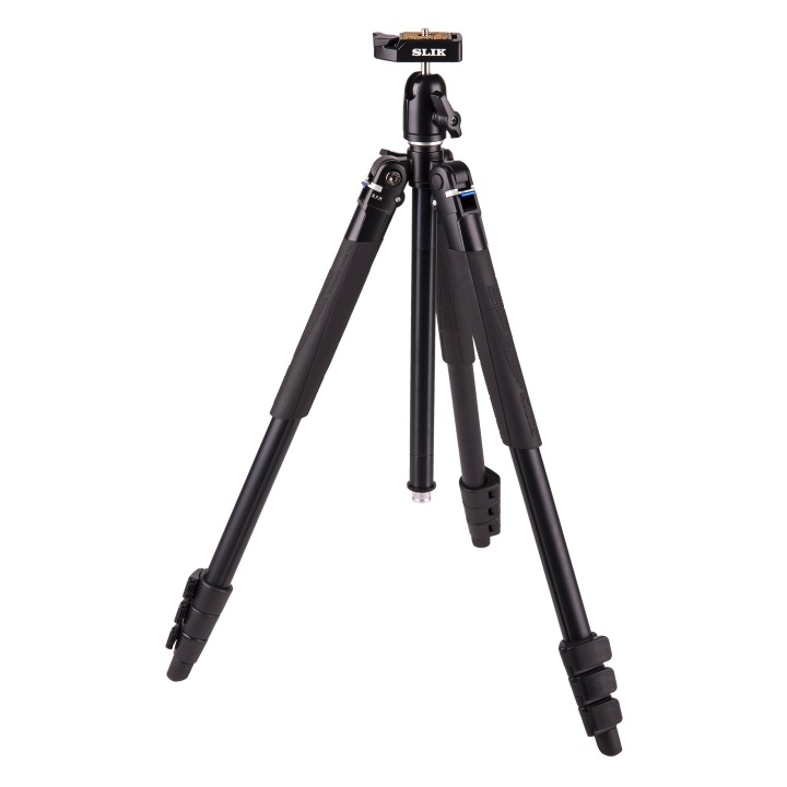 Slik Lite AL-420 Tripod with LED Center Flashlight