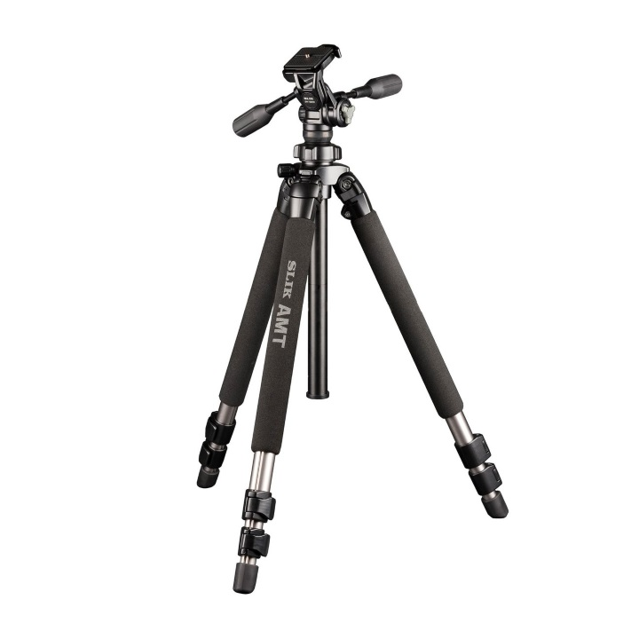 Slik Pro 500HD Tripod with SH-736HD 3-Way Head