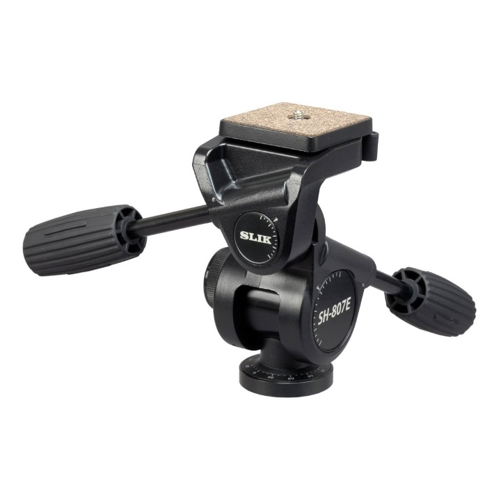 Slik SH-807E 3-Way Pan/Tilt Head