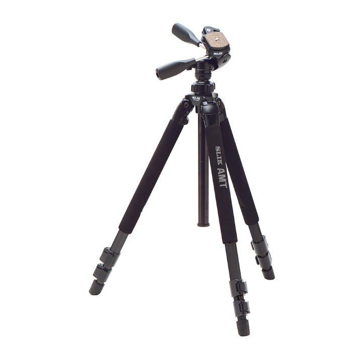 Slik 500DX Tripod with Pan/Tilt Head