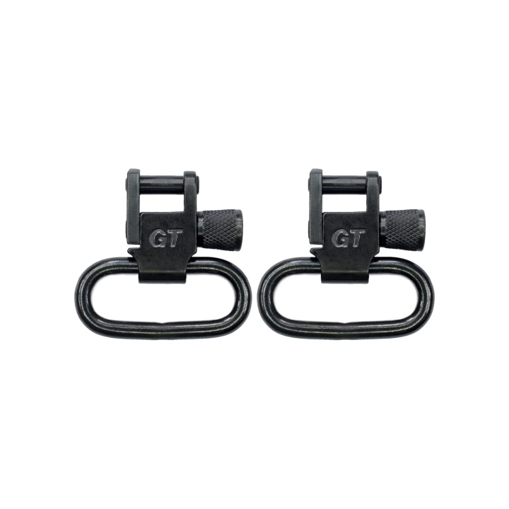 Grovtec Locking Swivels Black Oxide Finish - 1