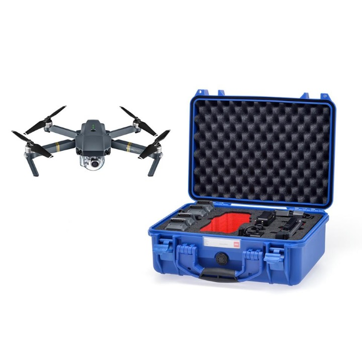 HPRC 2400 - Hard Case for DJI Mavic Pro (Blue)**
