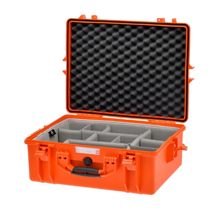 HPRC 2600 - Hard Case with Second Skin Divider Kit Orange
