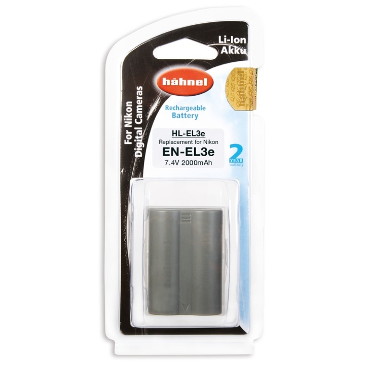 Hahnel EN-EL3e 2000mAh 7.4V Battery for Nikon