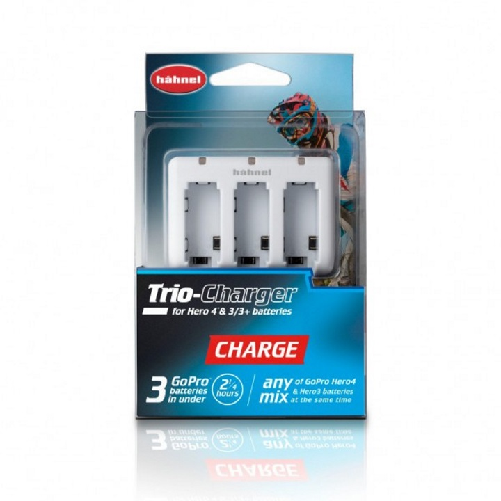 Hahnel Trio Charger for GoPro Hero3/3+/4 Battery