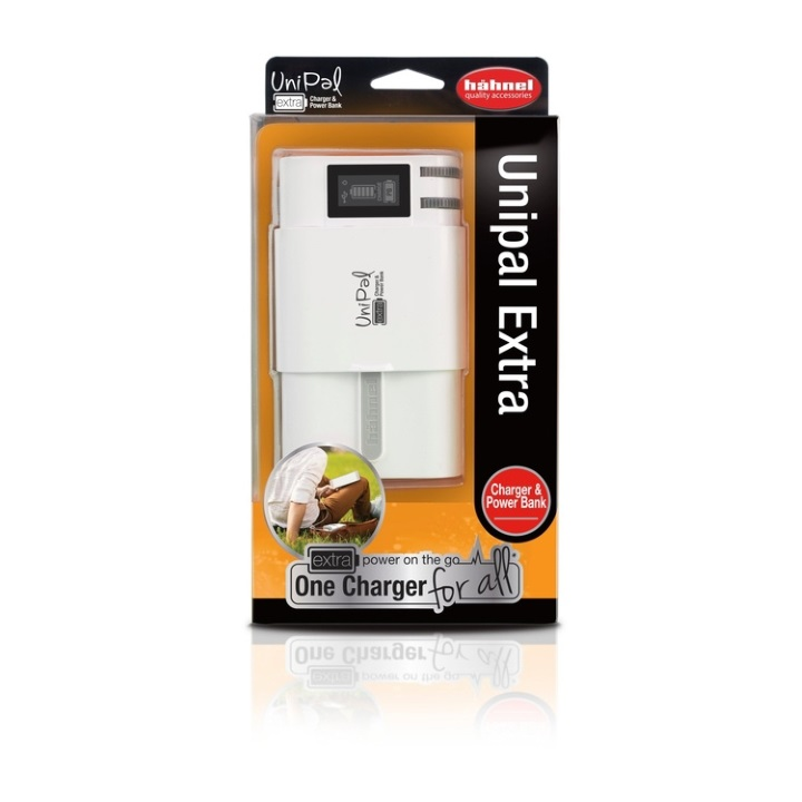 Hahnel Unipal Universal Charger with PowerBank