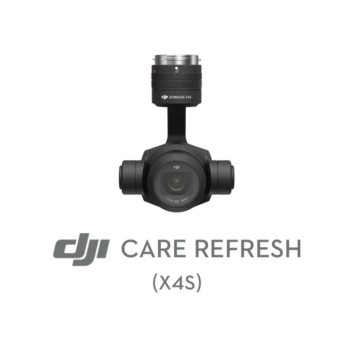 DJI Care Zenmuse X4S - License Number
