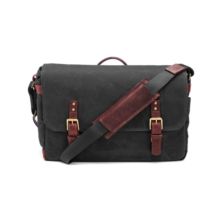 ONA Union Street Messenger Bag - Black