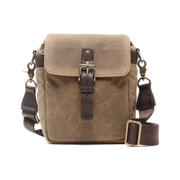 ONA The Bond Street - Canvas Camera Bag - Field Tan