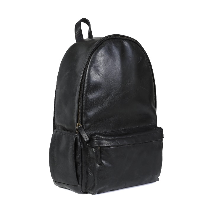 ONA Clifton Leather Backpack - Black **