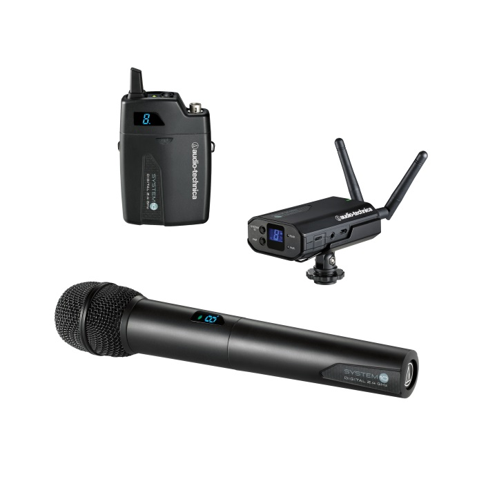 Audio-Technica ATW-1702 System 10 Camera Mount Digital Wireless Microphone
