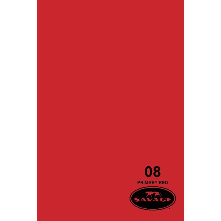 Savage Widetone PRIMARY RED Background Paper