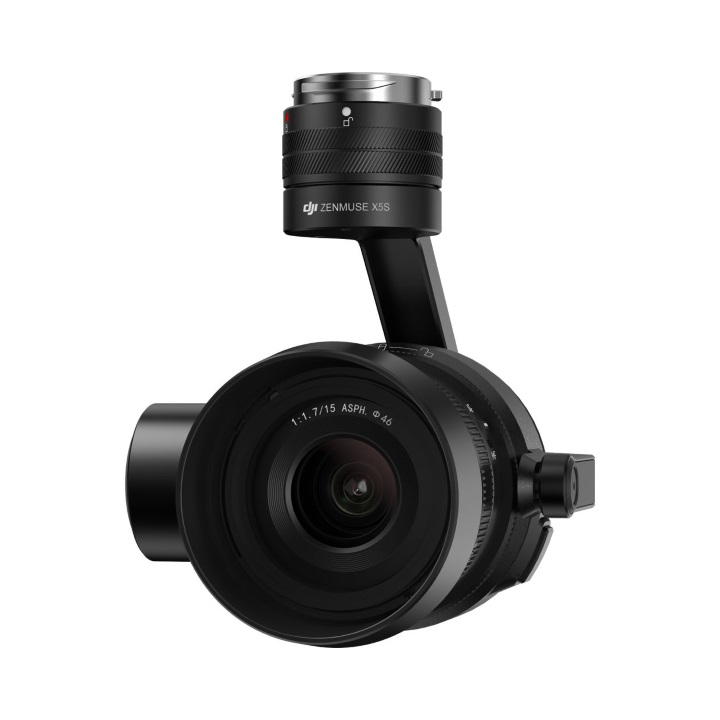 DJI Zenmuse X5S 5.2K 20MP Camera Gimbal & Lens (15mm f/1.7)