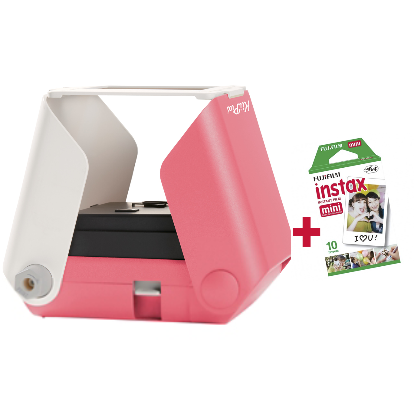 KiiPix SmartPhone Printer Instax Bundle - Cherry Blossom
