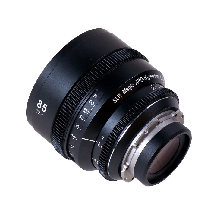 SLR Magic APO HyperPrime Cine 85mm T2.1 lens PL Mount