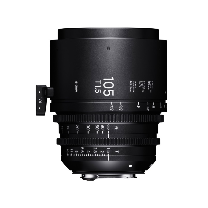Sigma 105mm T1.5 Cine Lens for Canon EF Mount