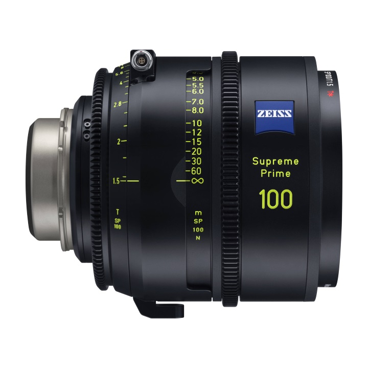 Zeiss Supreme Prime 100mm/T1.5 Feet Cine Lens for PL Mount