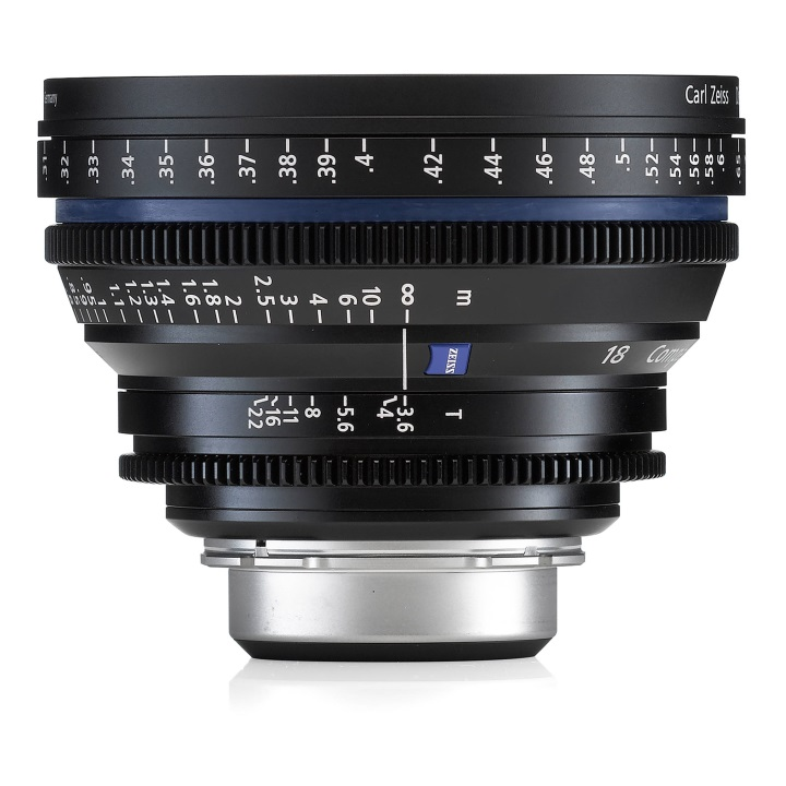 Zeiss CP.2 18mm/T3.6 Feet Compact Prime Cine Lens for PL Mount