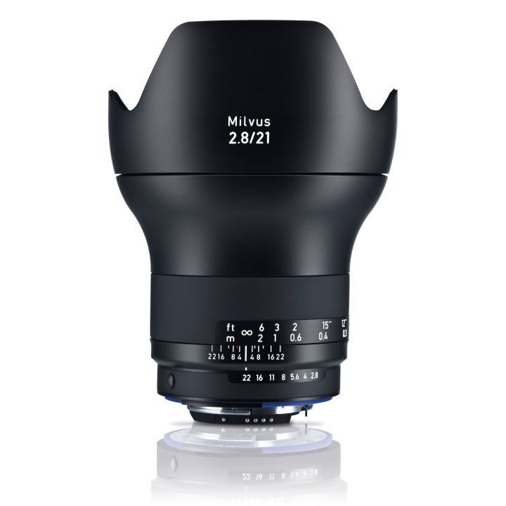 Zeiss Milvus 21mm f/2.8 ZF.2 Lens for Nikon