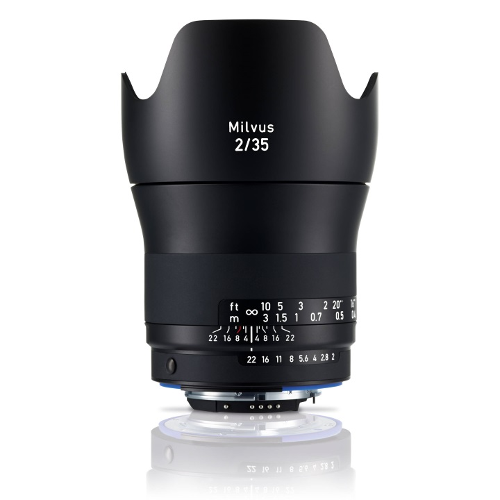 Zeiss Milvus 35mm f/2.0 ZF.2 Lens for Nikon